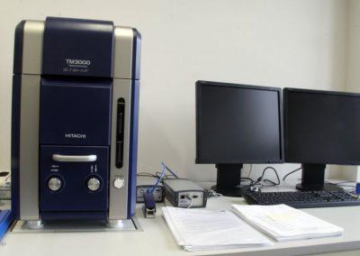 Skaningowy mikroskop elektronowy Hitachi TM 3000 z przystawką EDS