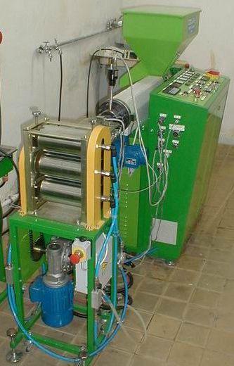 Linia technologiczna do produkcji folii z poliolefin