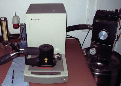 Aparat do analizy termograwimetrycznej TGA